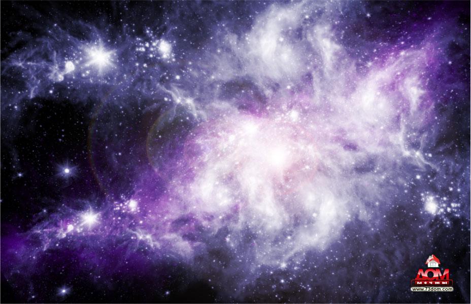 потолки с фотопечатью каталог изображений - Космос