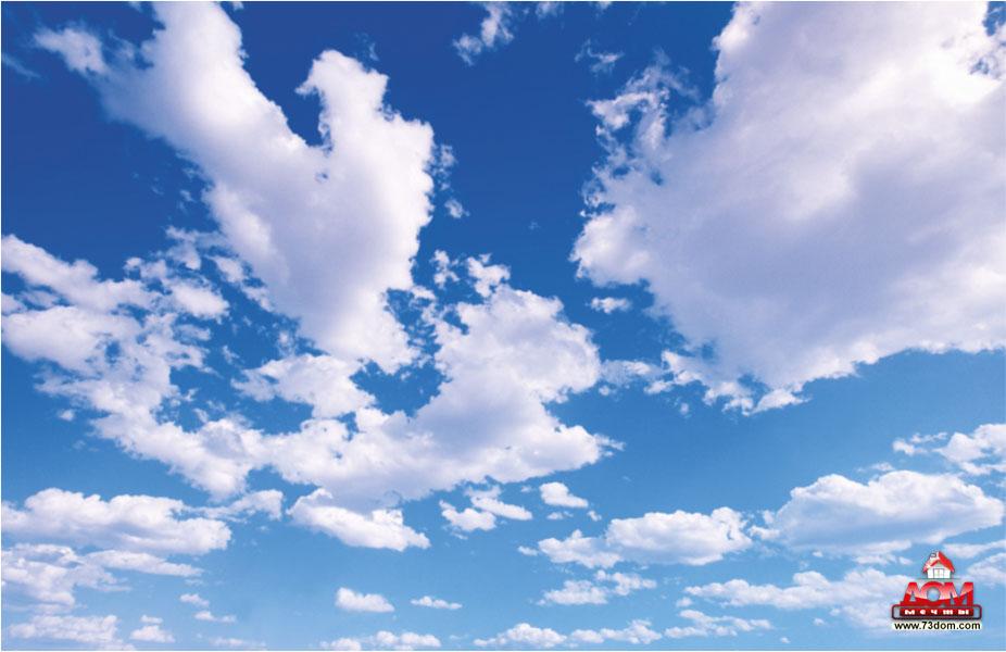 потолки с фотопечатью каталог картинок - Небо