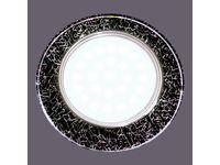 GX 53 хром (серебро на черном)